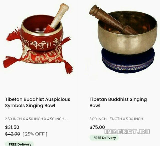 Тибетские поющие чаши, купить с бесплатной доставкой