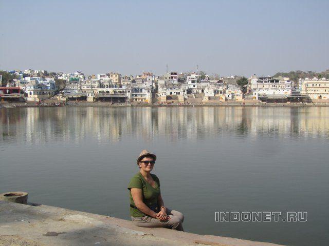 Индия, Раджастан, Пушкар, на озере