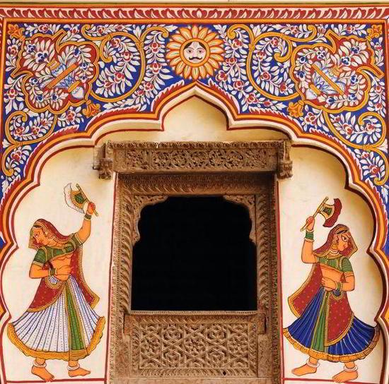 Хавели Шекхавати, Раджастан, Западная Индия