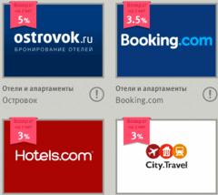 Лучший туристический кэшбэк на отели и билеты
