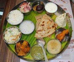 Индийская еда. Тали (thali)
