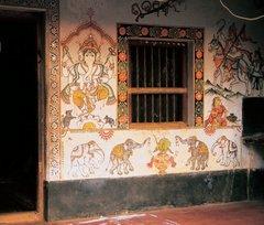 Рагхураджпур, росписи Ориссы (Одиши)