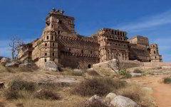 Кундар гарх - крепость  в центральной Индии