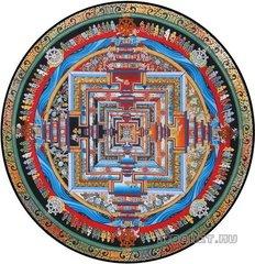 Буддийская КалаЧакра-мандала