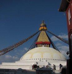 Непал, Катманду, Боднатх ступа
