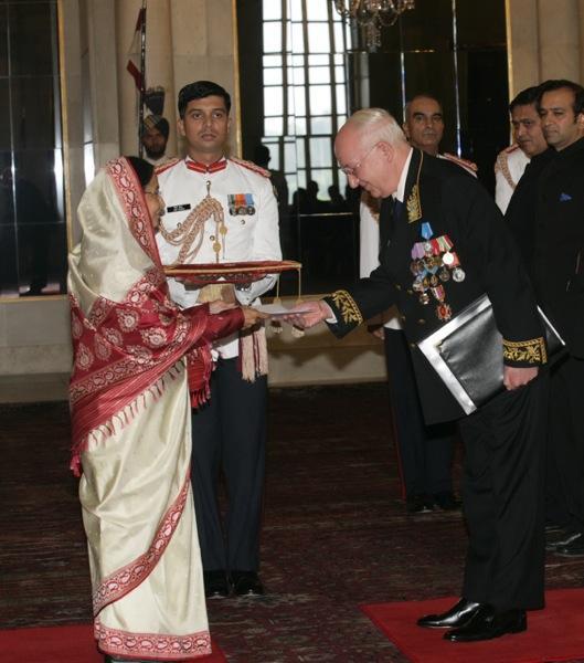 Посол РФ в Индии Кадакин А.М.