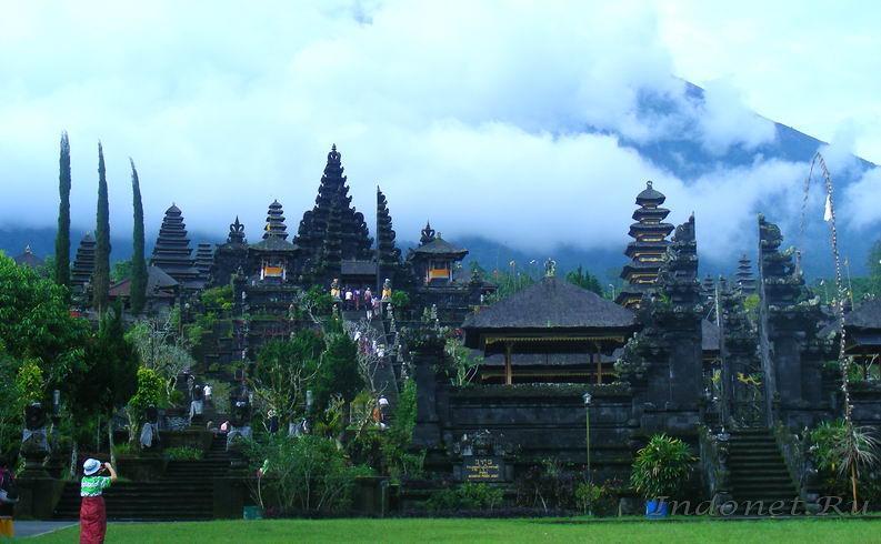 главный индуистский храм Бали