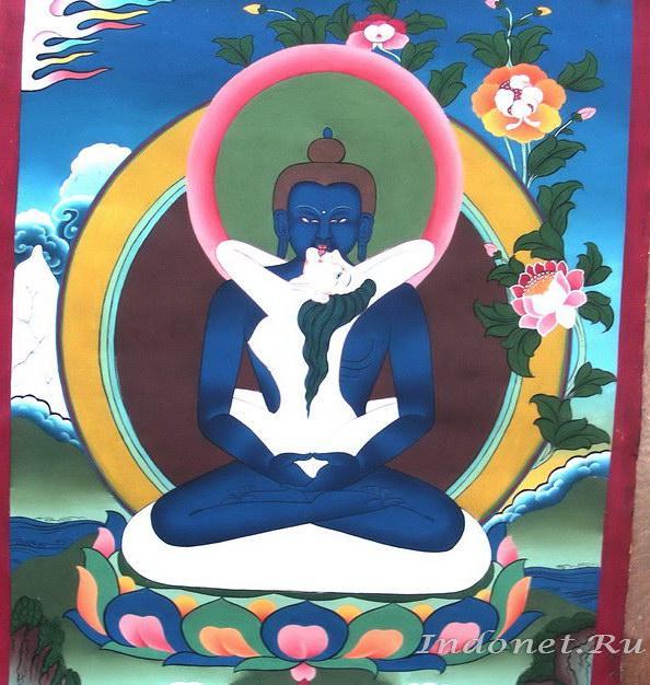 Будда и девушка