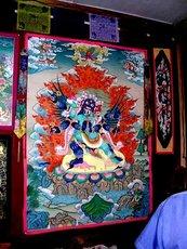 Буддийская тханка