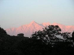 Дауладхар на закате