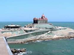 Каньякумари, мемориал Вивекананды