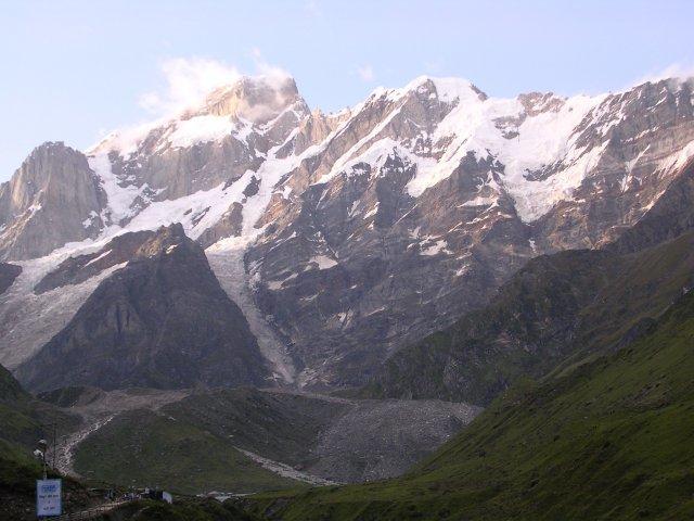 Гималайская гряда за Кедарнатхом