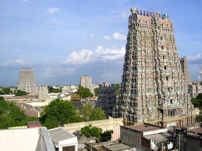 Мадураи, храм Минакши Сундарешвар