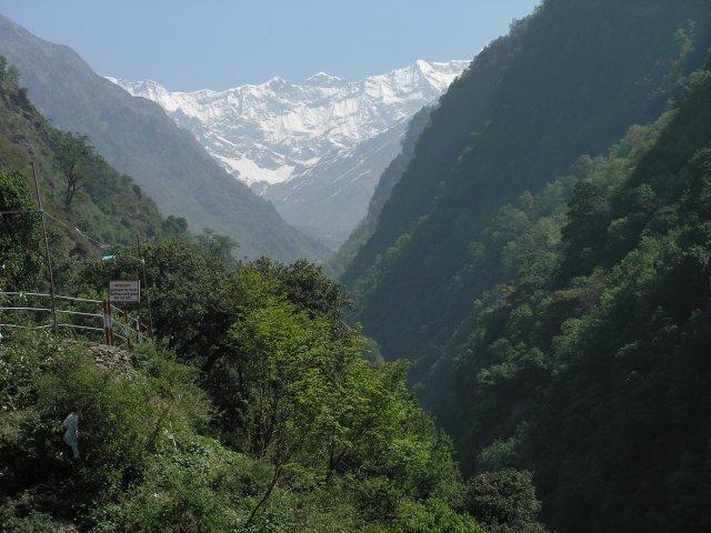 Дорога в Кедарнатх