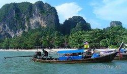 Лонгтейл - тайская лодка