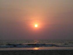 Закат над Гоа