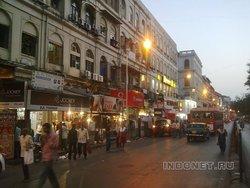 Мумбаи, Колаба вечером