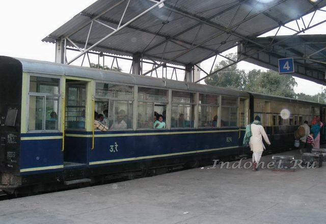 Вагон минипоезда в Патханкоте
