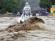Нисхождение Ганги. Наводнение с мифологией