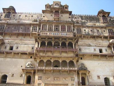 Датия, дворец махарани