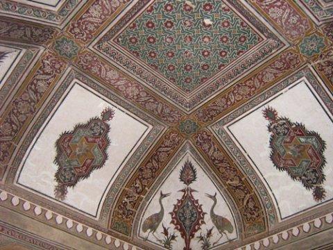 Датия, дворец махарани, потолок