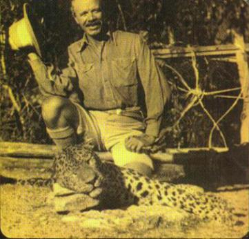 Джим Корбетт и леопард-душегубец, 1925 г.