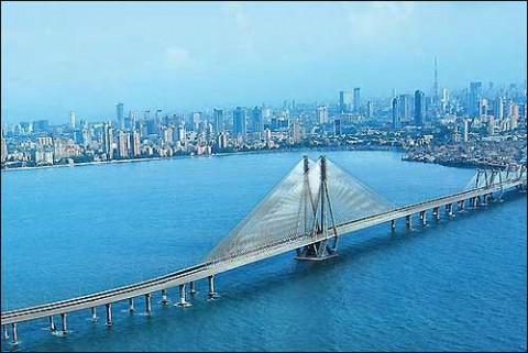 Мумбаи, новый мост Бандра-Ворли