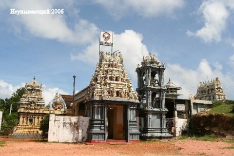 Тринкомали.Храм Конешварам Ковил