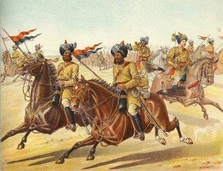 Разведчики 10го Бенгальского уланского полка