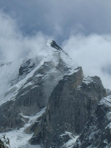 снежная буря в Гархвале