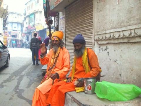 Удайпур - уличная сценка