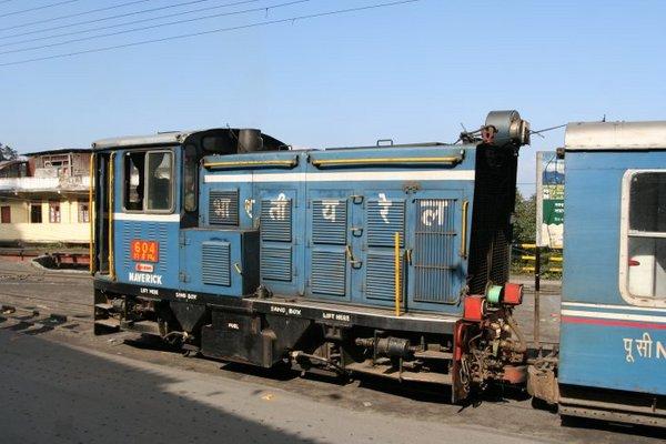 Тепловоз Гималайской железной дороги