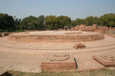 Дхармаджика Ступа. III в.