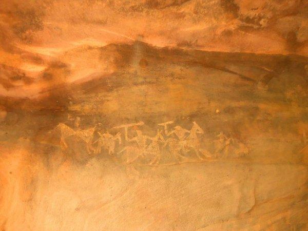 Бхимбетка, доисторические рисунки