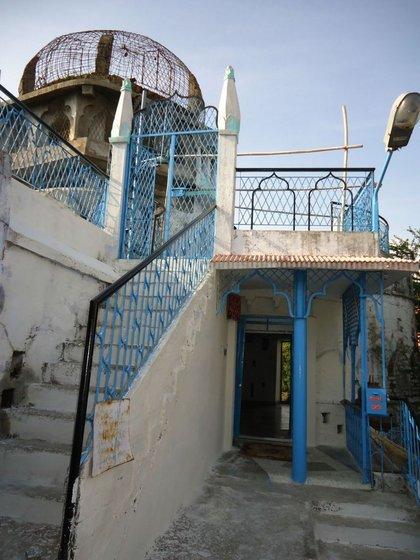 """Бхопал.  мечеть """"Два с половиной шага"""""""
