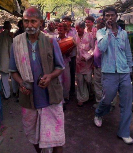 Холи 2011, Дели