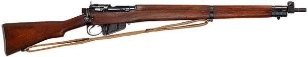 Энфилдовская винтовка Rifle No.4 Mk I - оружие Второй Мировой