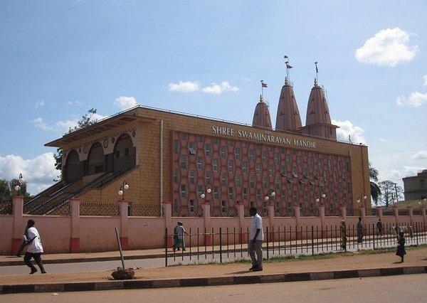 Храм Сваминараян в Кампале