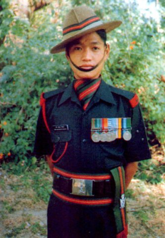 Солдат 5-го Гуркхского полка индийской армии