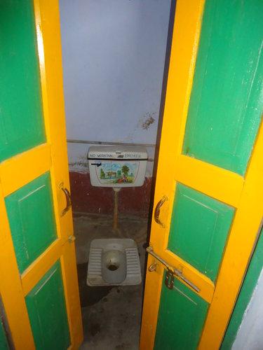 Ришикеш. Туалет в Ашраме Вед Некетан