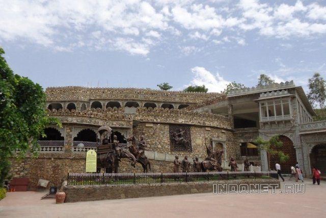 Музейный комплекс в Халдигхати