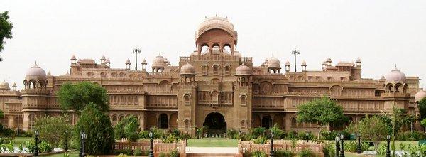 Дворец Лакшми Нивас (Джайпур), арх.С.С.Джейкоб, 1898-1902