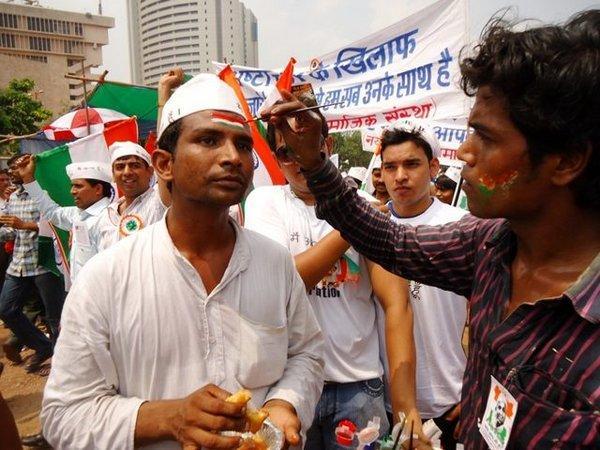 Митинг в Дели