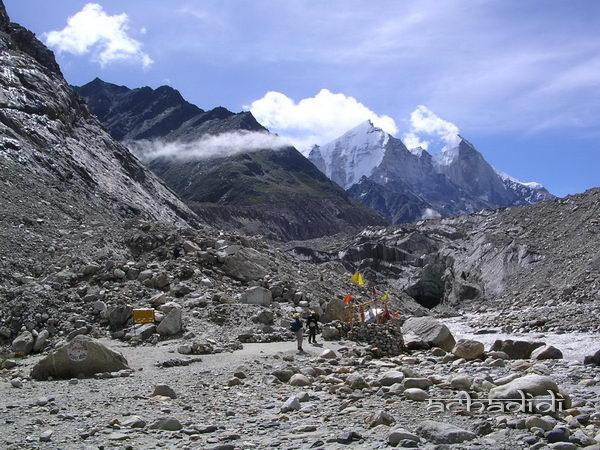 Индия. Гималаи у истока Ганги