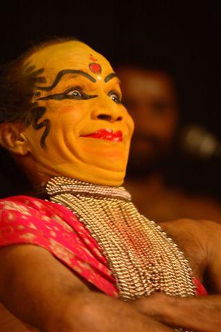 Катхакали, упражнения для лица