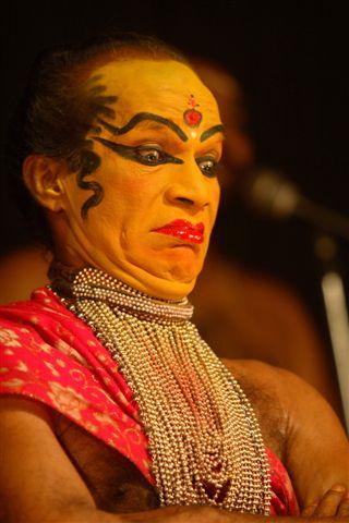 Катхакали, упражнения актера