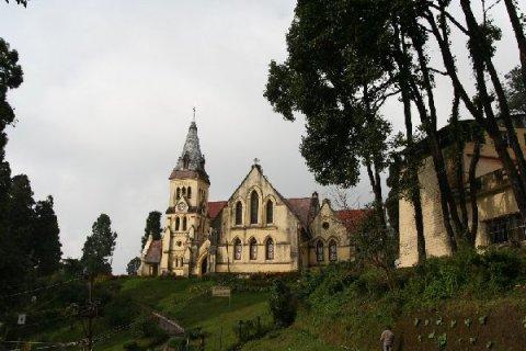 Дарджилинг. Шотландская церковь Св.Андрея - старейшая в городе