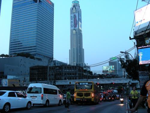 Большой Бангкок вечером