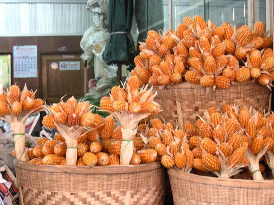 букеты из початков кукурузы
