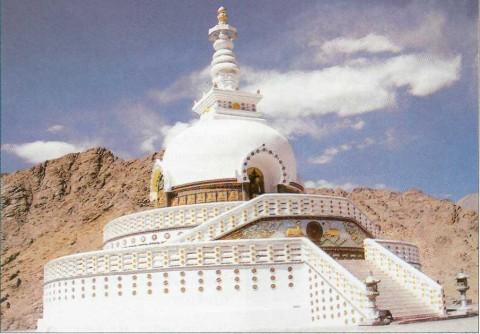 Ладакх, буддийская ступа